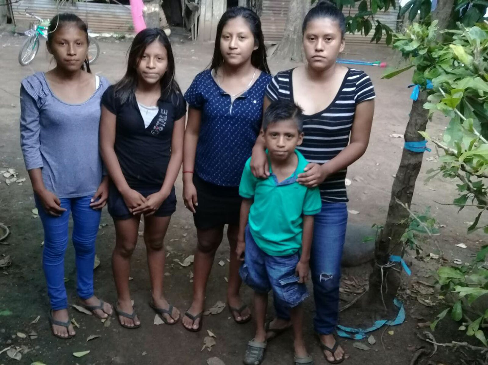 Garcia's family—a wife, four daughters, and a son—live in Guatemala.