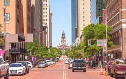 Fort Worth made the second spot on the list with an average commute of 27.9 minutes.