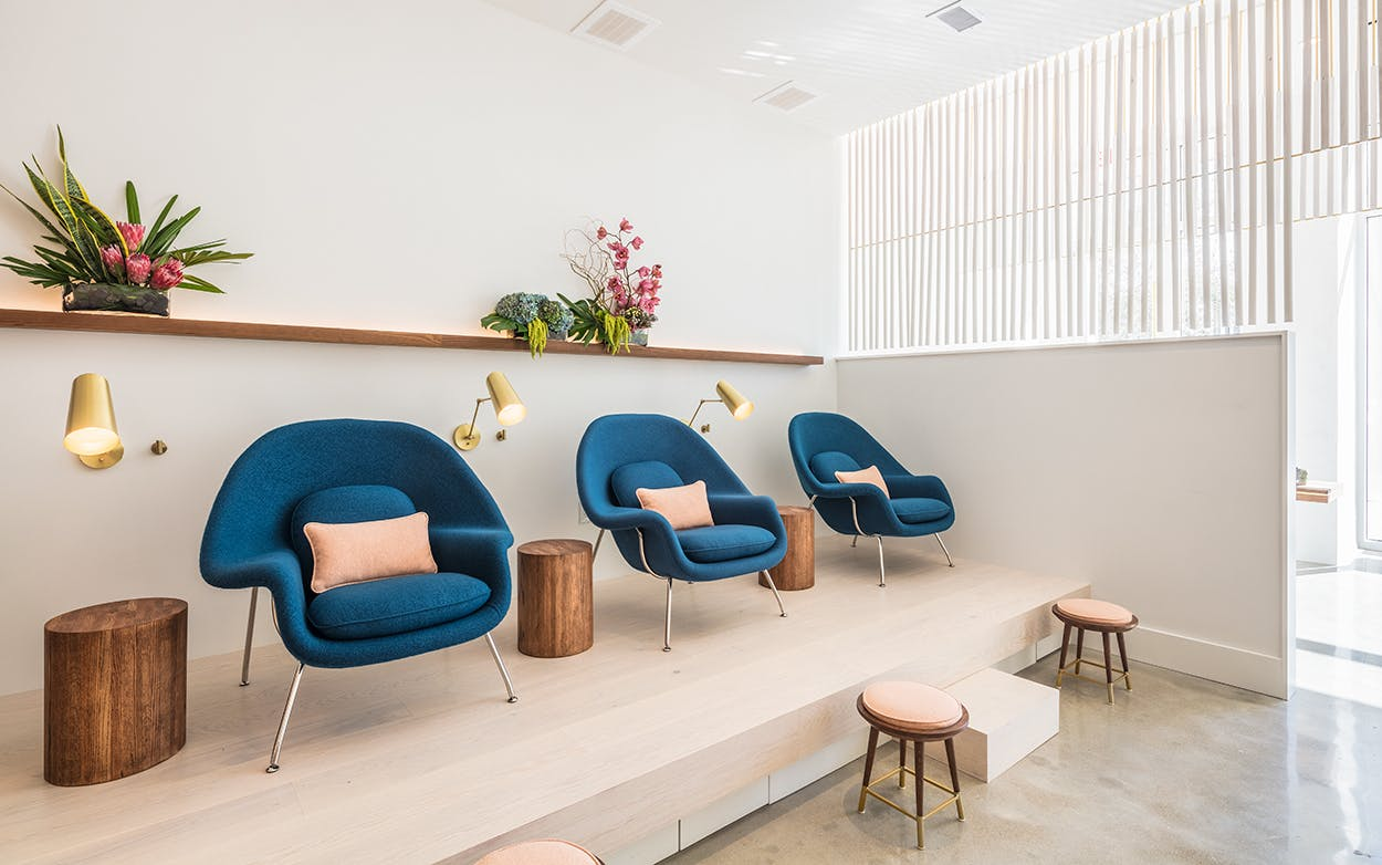 Paloma Nail Salon's Post Oak location in Houston offers non-toxic manis and pedis, as well as affordable facials.