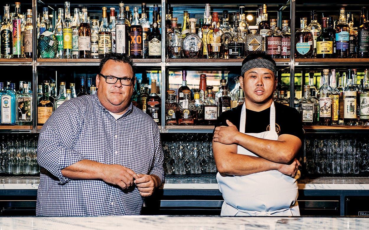 Chris Shepherd and Nick Wong.