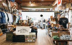 the interior of Manready Mercantile in Houston
