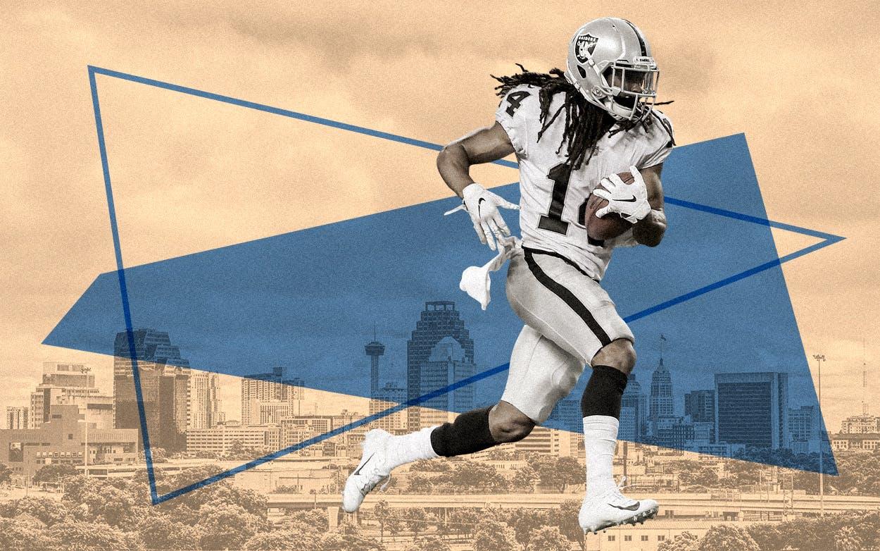 The Oakland Raiders might play a season in San Antonio.