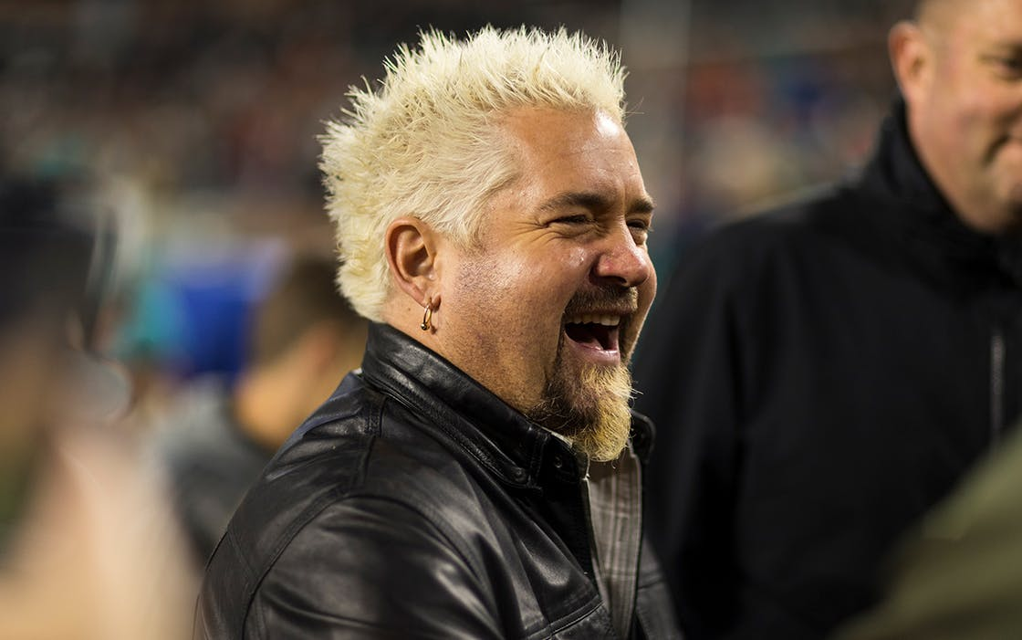 Celebrity chef Guy Fieri in Miami on Dec. 11, 2017.