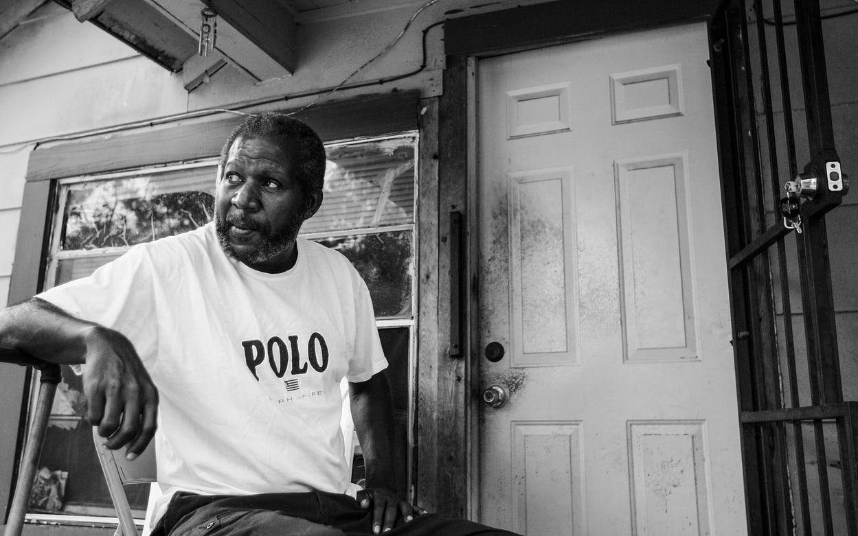 Clarence Brandley, 59, at his home in Conroe, Texas on May 19, 2011. Brandley spent 10 years on Texas' Death Row.