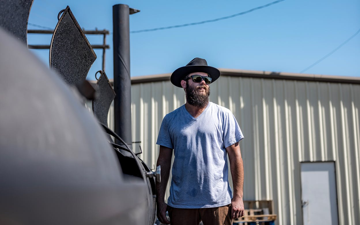 Reid Guess is owner and pitmaster of Guess Family Barbecue in Waco.