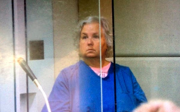 Nancy Brophy at the Multnomah County Circuit Court in Portland, Ore., on Thursday, Sept. 6, 2018
