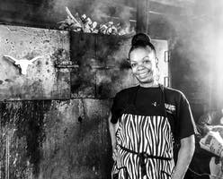 Owner and current pitmaster at Lady & the Pit, Natasha Smith.