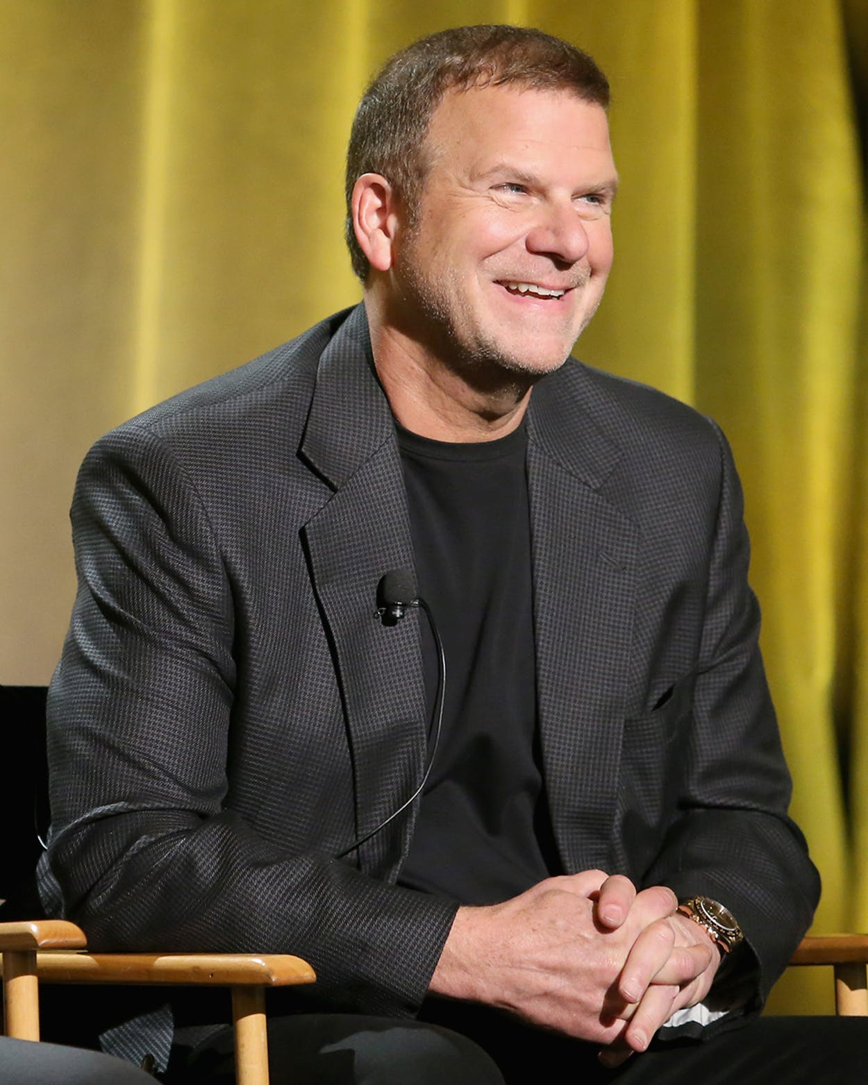 Businessman/TV personality Tilman J. Fertitta speaks onstage during the 2016 NBCUniversal Summer Press Day on April 1, 2016 in Westlake Village, California.
