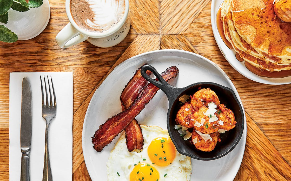 Settle in for breakfast or pick up lunch to go at Chip and Joanna Gaines's Magnolia Table, in Waco.