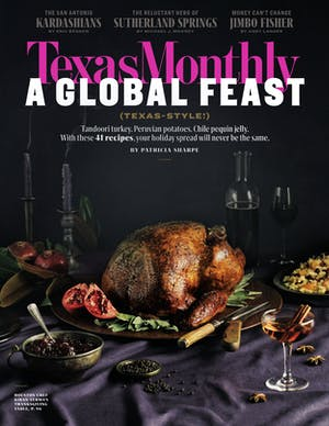 November 2018 issue cover
