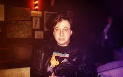 Comedian Bill Hicks at the Laff Stop in Austin.