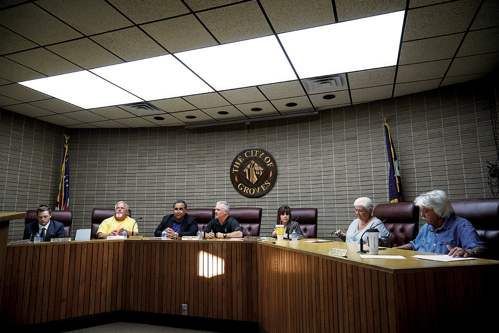 Groves city council meeting