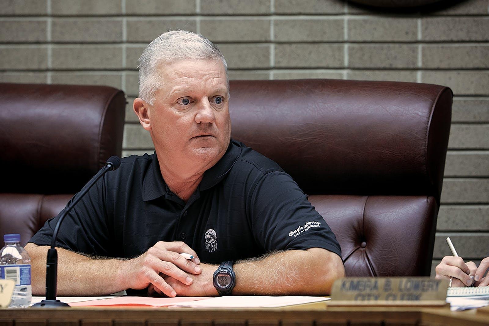 Groves mayor Brad P. Bailey