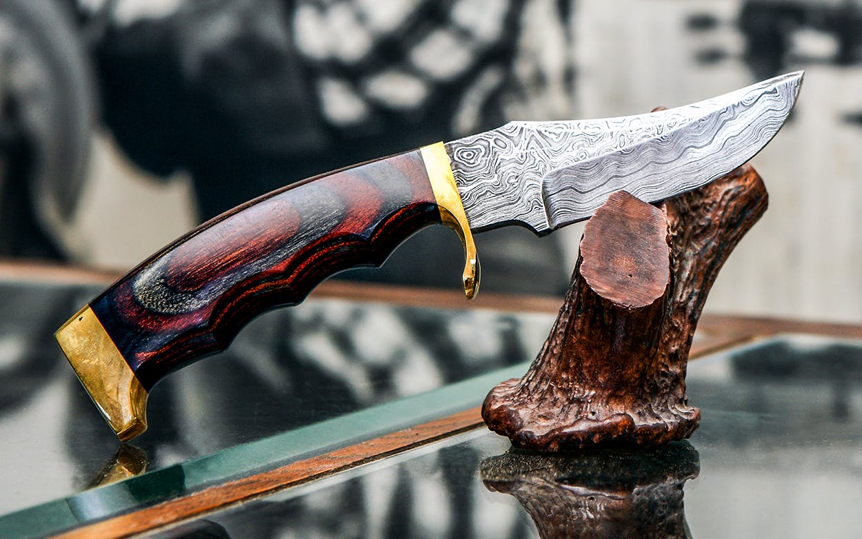 The Bandera hunting knife