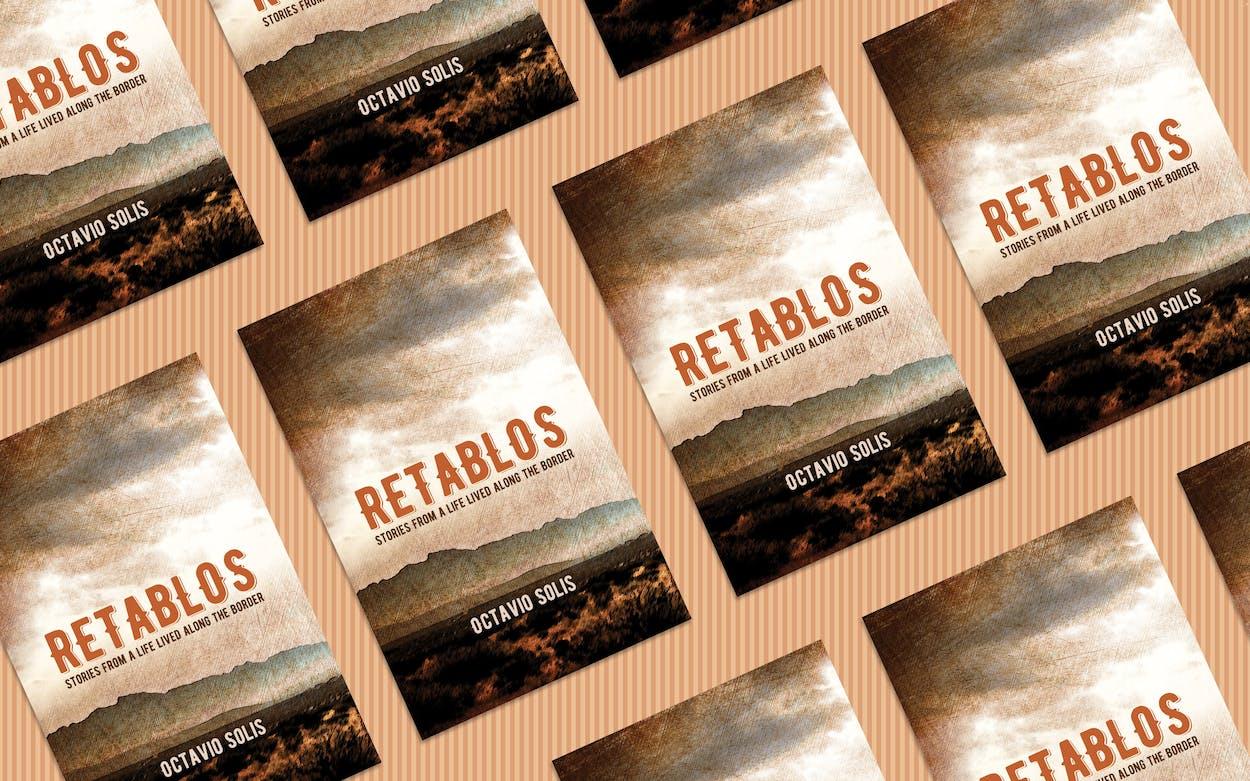 The cover of Octavio Solis's memoir, 'Retablos.'