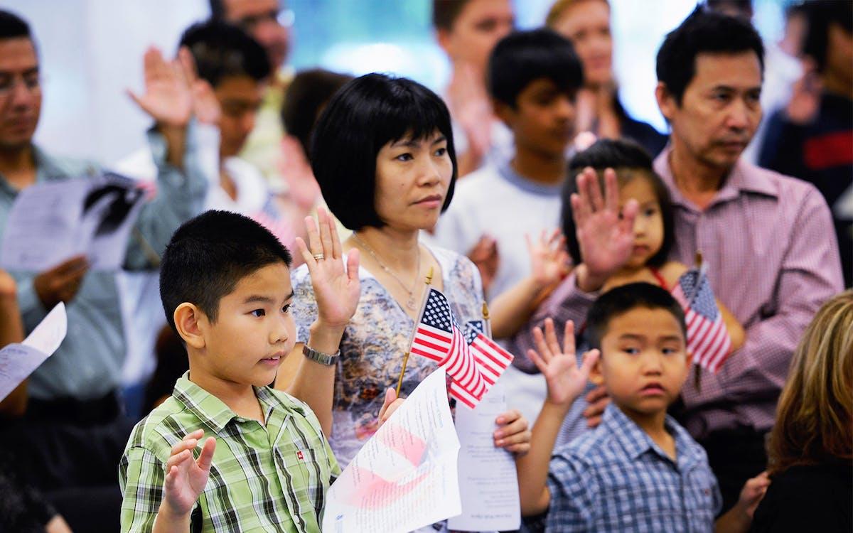 people Asian texas american in
