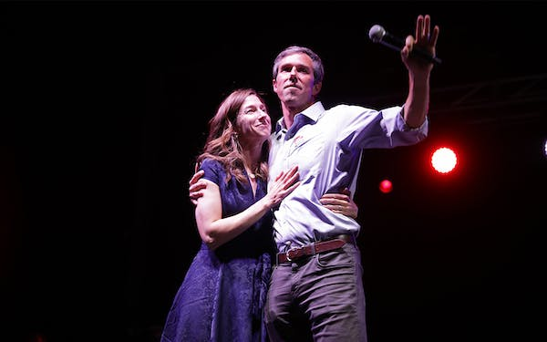 Amy and Beto O'Rourke