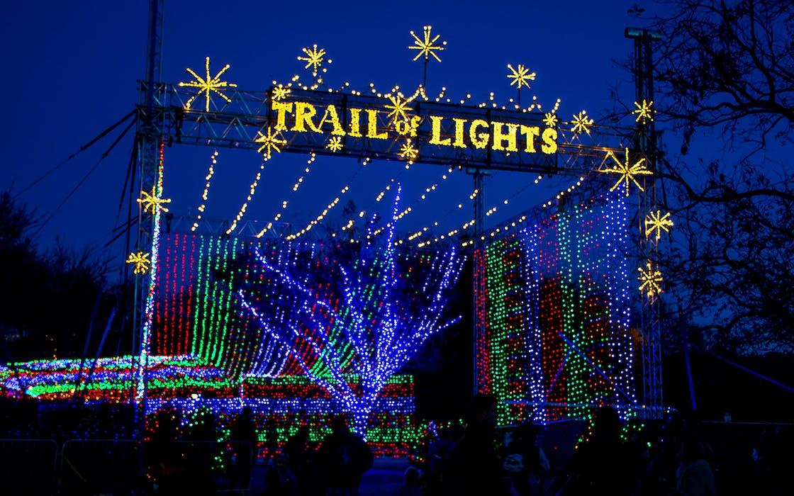 texas holidays trail of lights