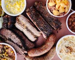 The full menu at Embers Barbecue