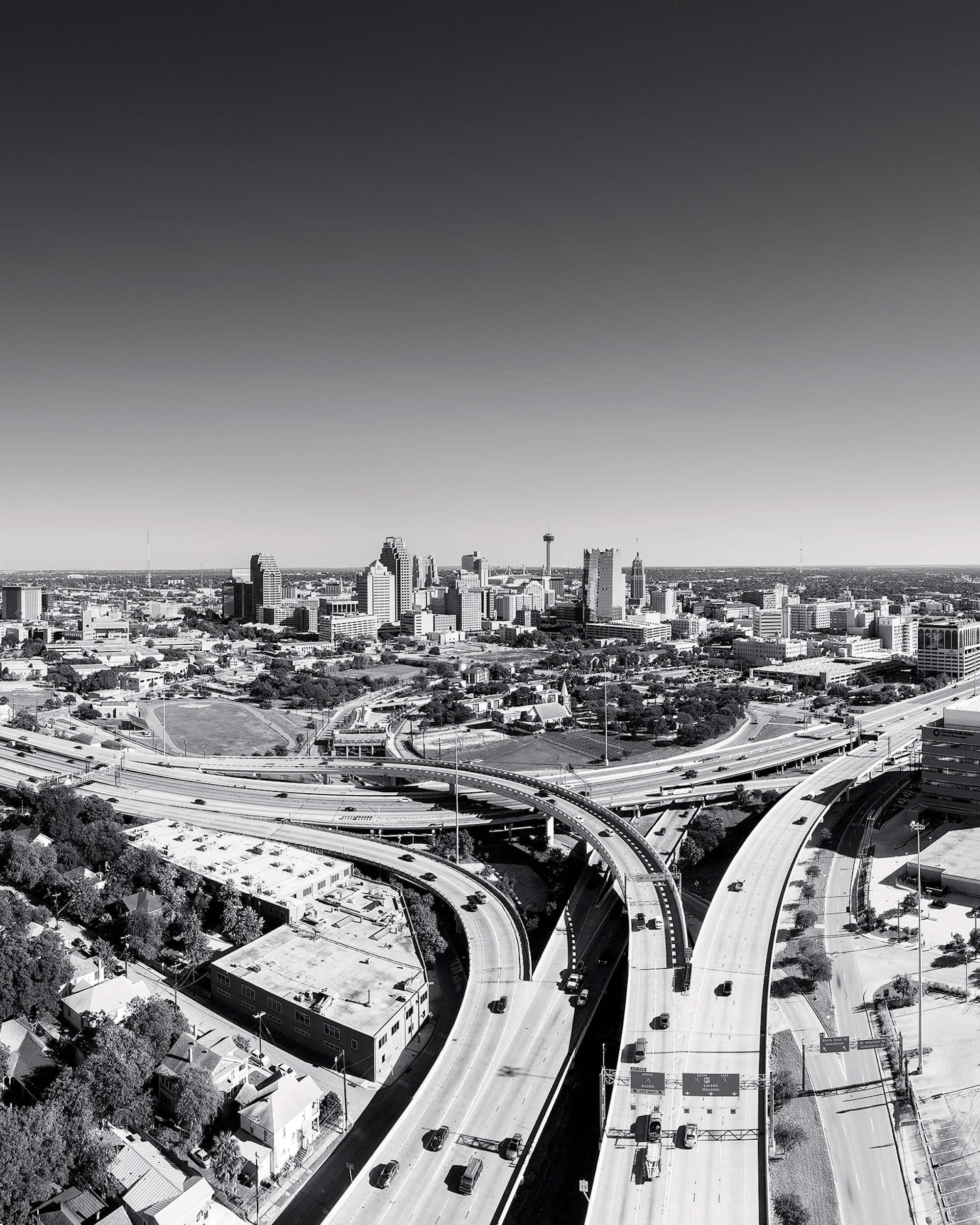 Downtown San Antonio.