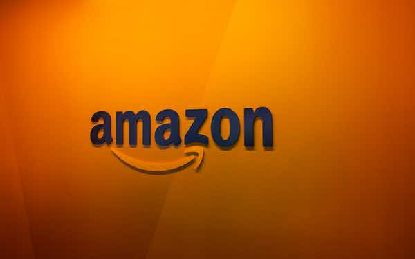 A sign from Amazon, which will be opening two new headquarters in the DC and NYC metro areas