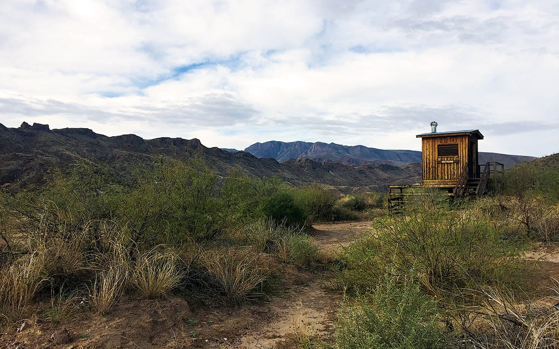 Big Bend Ranch State Park campground