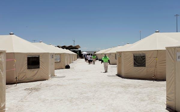 tornillo tent city