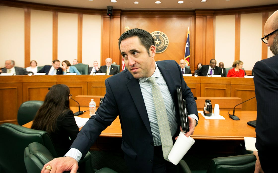 Texas Comptroller Glen Hegar delivers revenue estimate