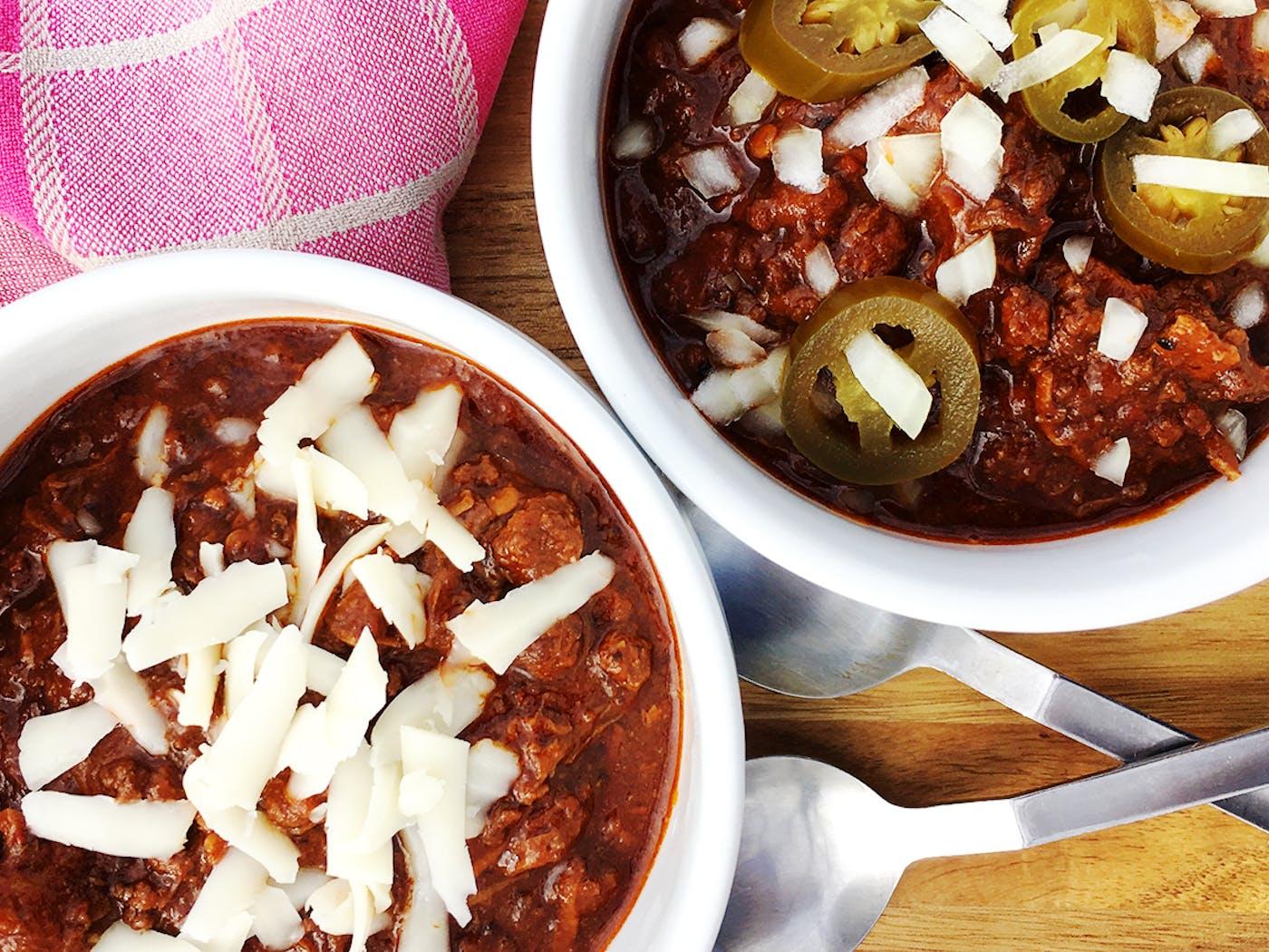 Instant Pot Texas Chili Recipe