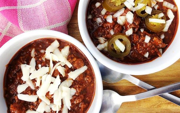 Instant Pot Texas Chili