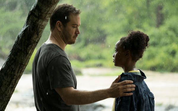 Mark-Paul Gosselaar and Saniyya Sidney in The Passage premiering Monday, Jan. 14. As an imminent flu epidemic threatens the U.S., Federal Agent Brad Wolgast (Gosselaar) is tasked with bringing in the experiment's latest chosen test subject, a ten-year-old girl, Amy Bellafonte (Sidney).