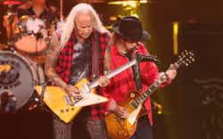Lynyrd Skynyrd performs at the 2018 iHeartRadio Music Festival in Las Vegas.
