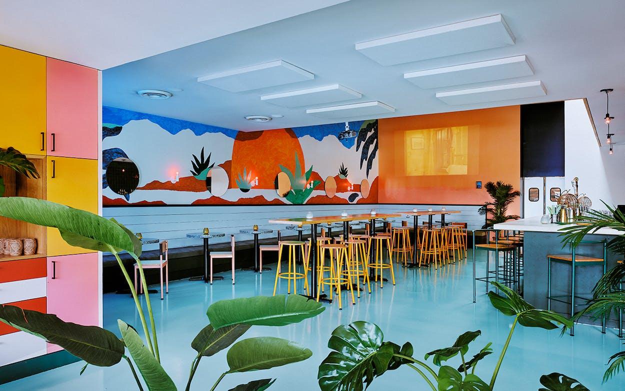 restaurant design The interior of Last Straw in Austin
