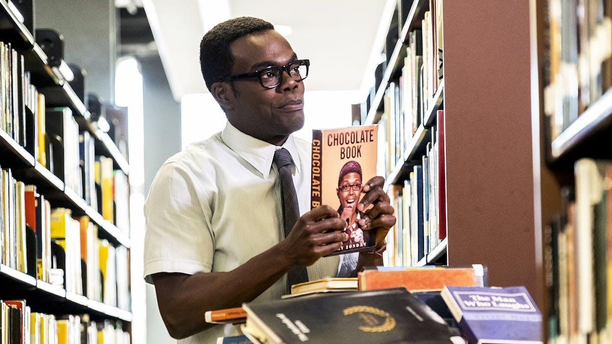 William Jackson Harper playing Chidi Anagonye on 'The Good Place'