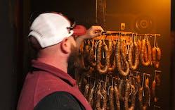 dried sausage