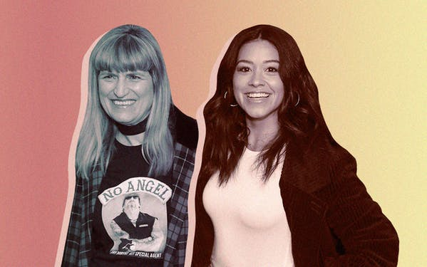 Catherine Hardwicke and Gina Rodriguez