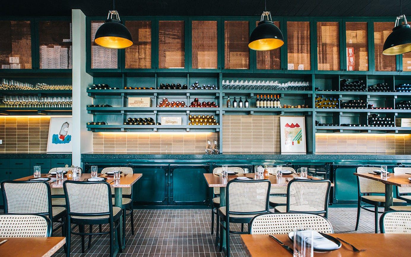 Restaurant Design Interior of Il Brutto in Austin