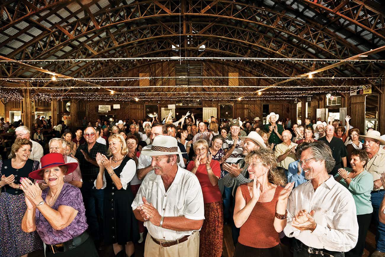 Anhalt Hall's Oktoberfest dance.
