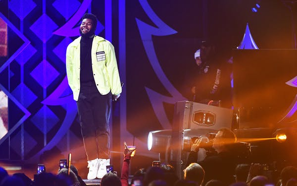 Khalid performs onstage at Madison Square Garden on December 7, 2018 in New York City.