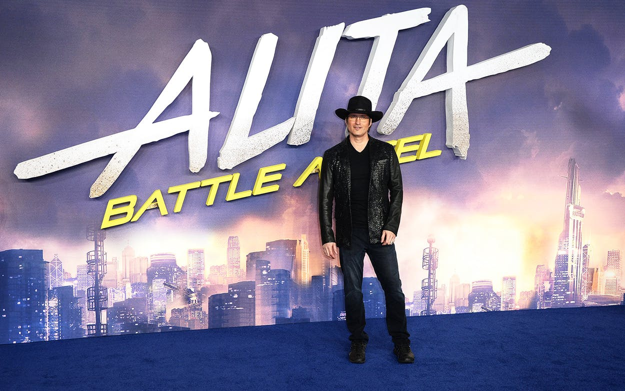 Director Robert Rodriguez attends the 'Alita: Battle Angel' world premiere on January 31, 2019 in London, England.