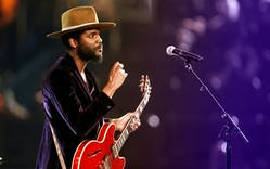 Gary Clark Jr. performs onstage at the 60th annual Grammy Awards at Madison Square Garden on January 28, 2018, in New York.