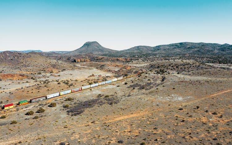 freight train in marfa