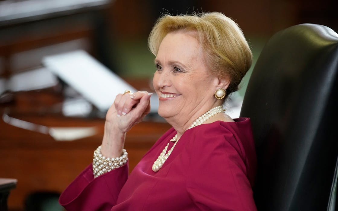 Texas State Senator Beverly Powell.