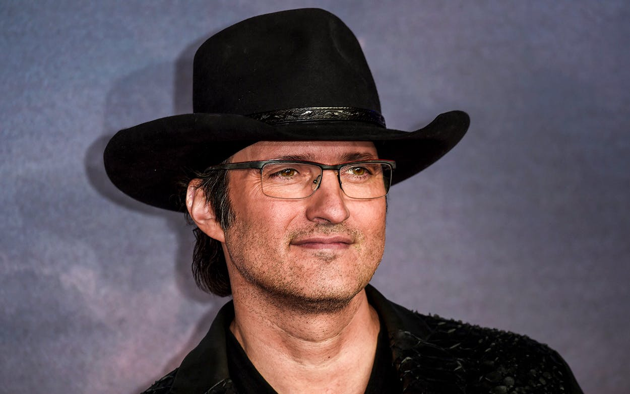 Director Robert Rodriguez attends the Alita: Battle Angel world premiere on January 31, 2019 in London, England.