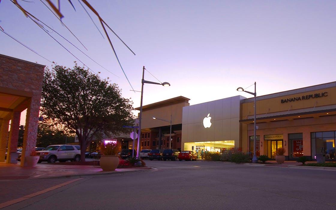 The Domain in Austin, Texas.