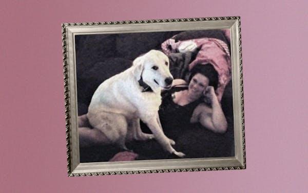 Zero and his owner, Laura Martinez