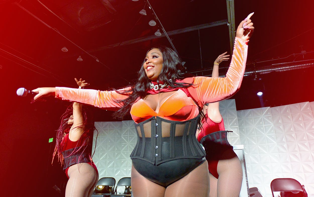 Lizzo performs onstage at HD Buttercup on September 12, 2018 in Los Angeles, California.