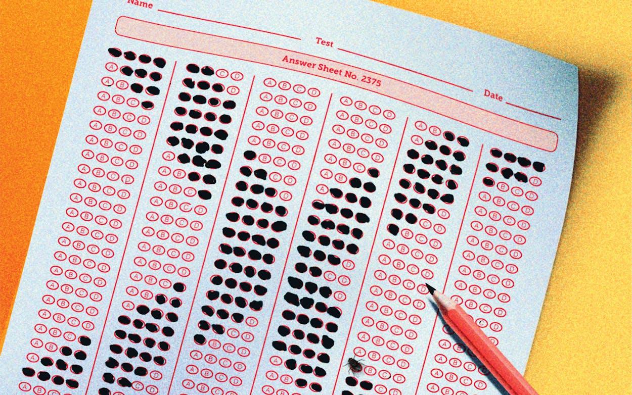 testing sheet illustration