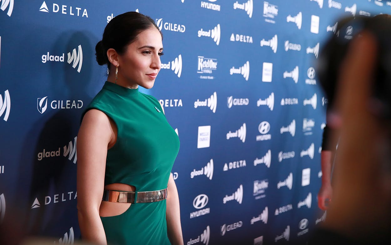Gabrielle Ruiz attends the 30th Annual GLAAD Media Awards on March 28, 2019 in Beverly Hills, California.