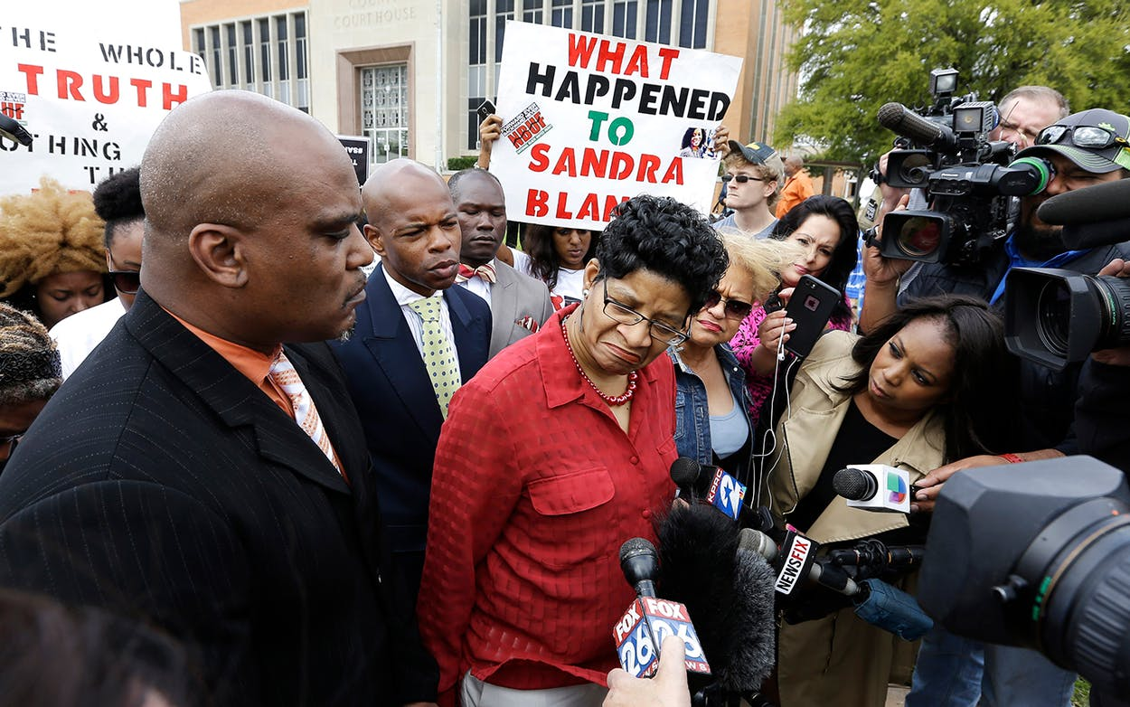 Sandra Bland mother